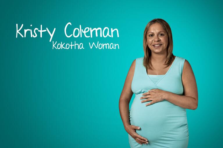 A lady ambassador Kristy Coleman - Kokotha Woman