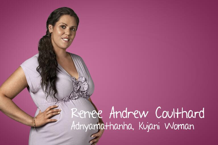A lady ambassador Renee Andrew Coulthard - Adnyamathanha, Kujani Woman