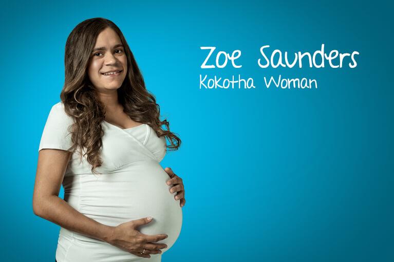 A lady ambassador Zoe Saunders - Kokotha Woman